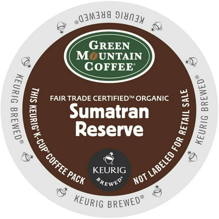 Green Mountain Sumatran Reserve Extra Bold Coffee, K-Cup Portion Pack for Keurig Brewers, 24 Count