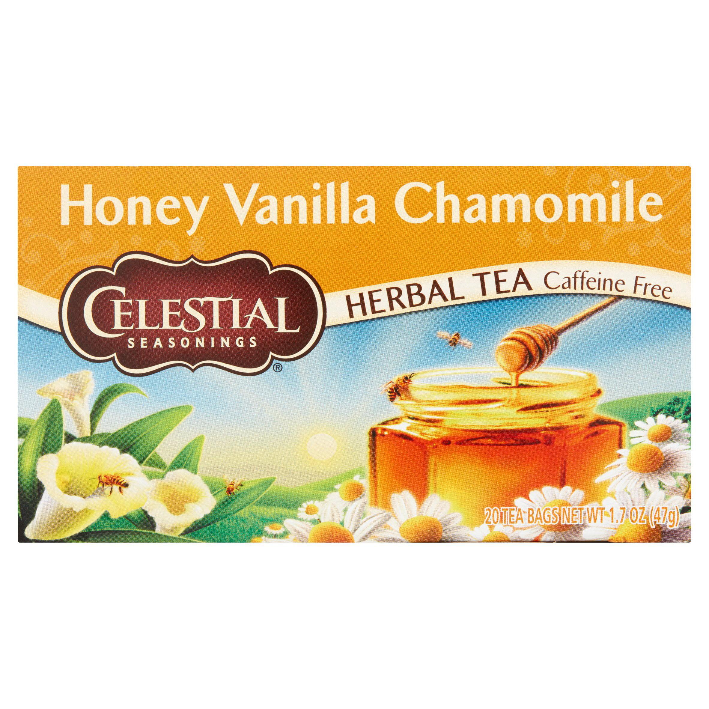 Celestial Seasonings Honey Vanilla Chamomile Herbal Tea Bags 20 ct Box by Celestial Seasonings, Inc., the Hain Celestial Group, Inc.