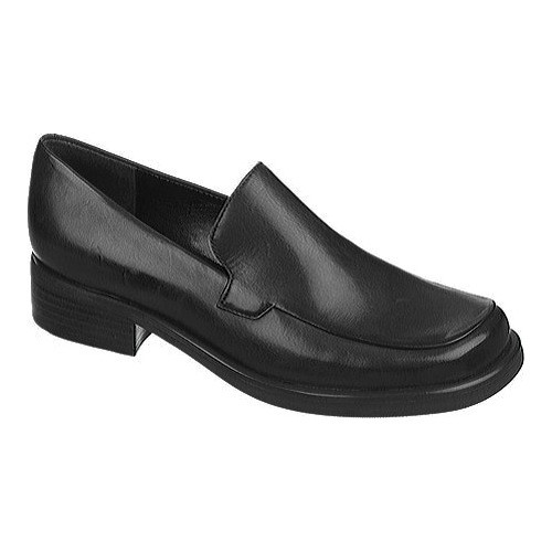Franco Sarto Womens Bocca Leather Square Toe Loafers