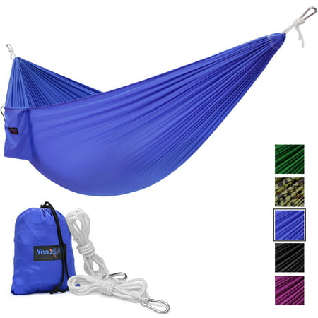 Yes4All Single Lightweight Camping Hammock with Carry Bag ()
