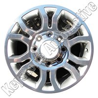 Wheel for 2013-2018 Dodge Ram 2500 3500 18x8 Refinished 18 Inch Rim