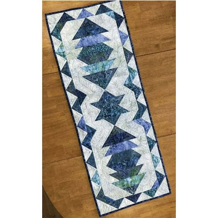 Pattern~Lanterns Table Runner by Susan Nelson by Cut Loose Press 16