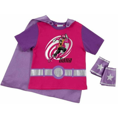 Personalized Power Rangers Super Mega Blaster Pink Super T-Shirt - Pink Power Range
