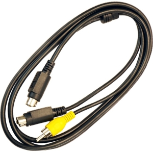 VisionTek 900663 Visiontek S-Video/RCA Video Cable - S-Video/RCA for Video Device, Monitor, TV, DVD Player, Video Conferencing System, Gaming Console - 4.83 ft - 1 x Male S-Video -