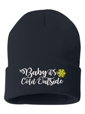 46a62ec9 Product Image Beanie for Women Embroidered Baby It's Cold Out Side Winter  Hat