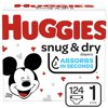 Huggies Snd Diapers Size 1 Giga 124