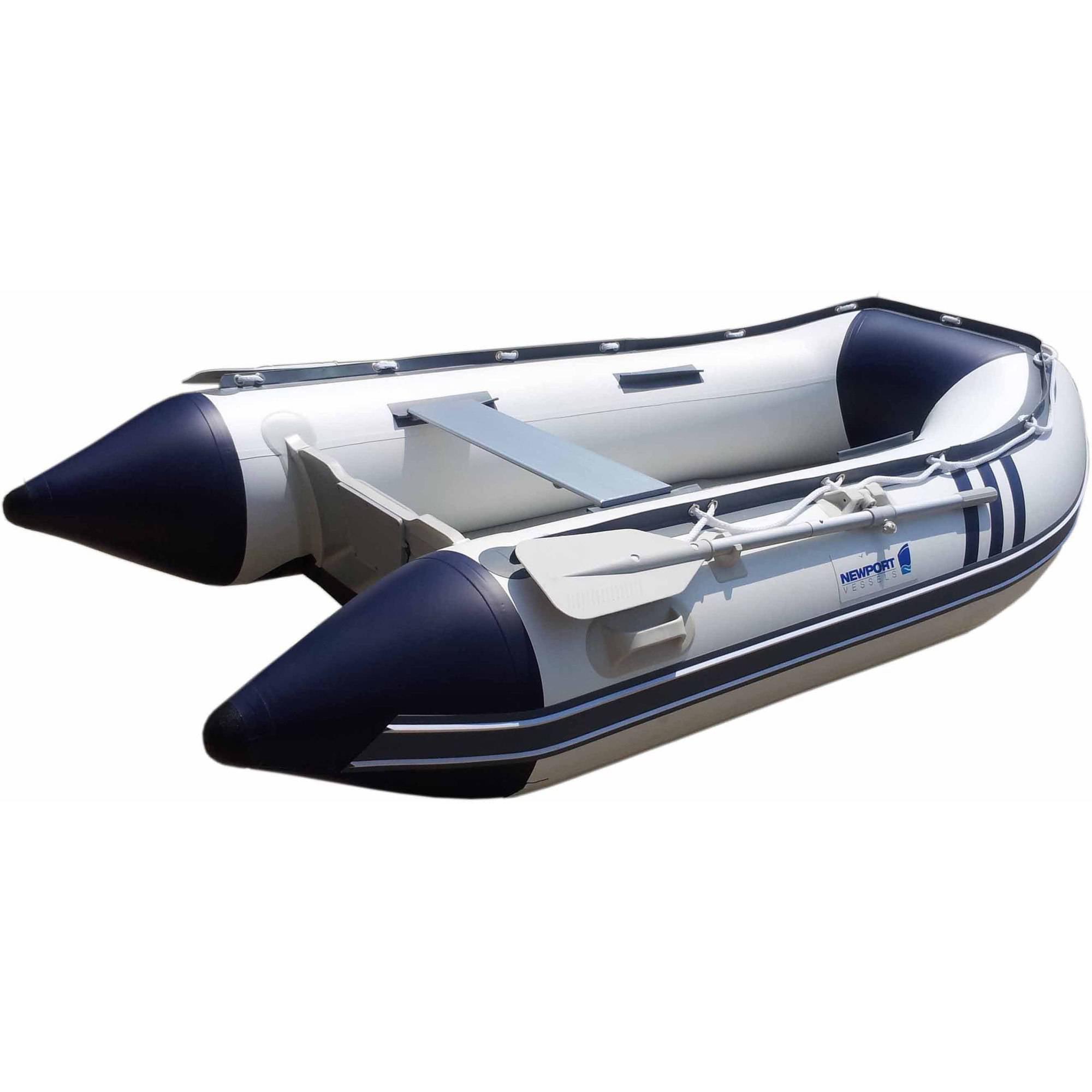 Newport Vessels 9' Seascape Inflatable Sport Tender Dinghy Boat, Air Floor
