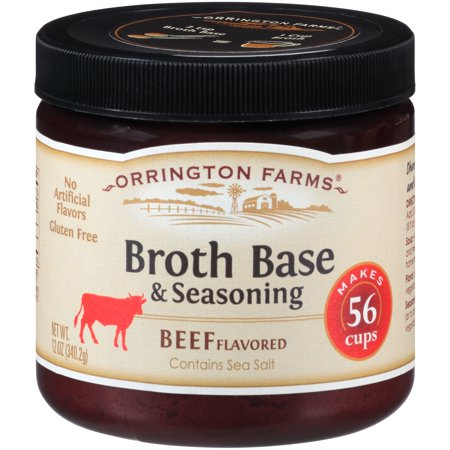 Orrington Farms ® Beef Flavored Broth Base & Seasoning 12 oz. Jar
