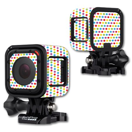 Digital Dot - MightySkins Protective Vinyl Skin Decal Cover for GoPro Hero4 Session Camera Digital Camcorder Sticker Skins Candy Dots