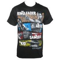 The Walking Dead Men's Four Survivors T-Shirt Black