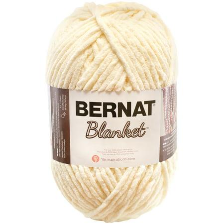 BERNAT BLANKET YARN (300G/10.5 OZ), VINTAGE WHITE