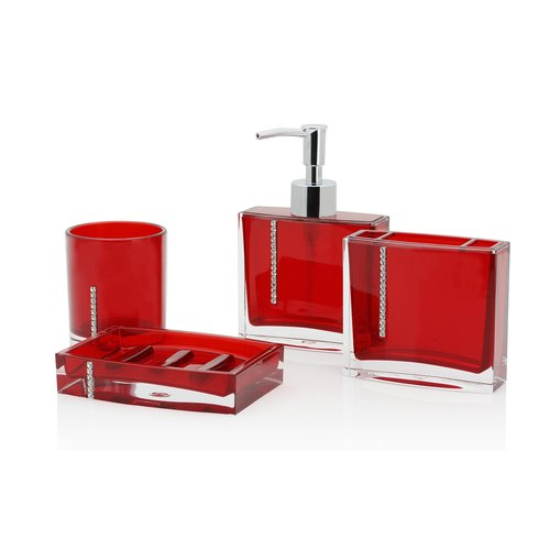 Orren Ellis Jeffords 4 Piece Bathroom Accessory Set