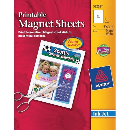 avery printable magnet sheets x pc com
