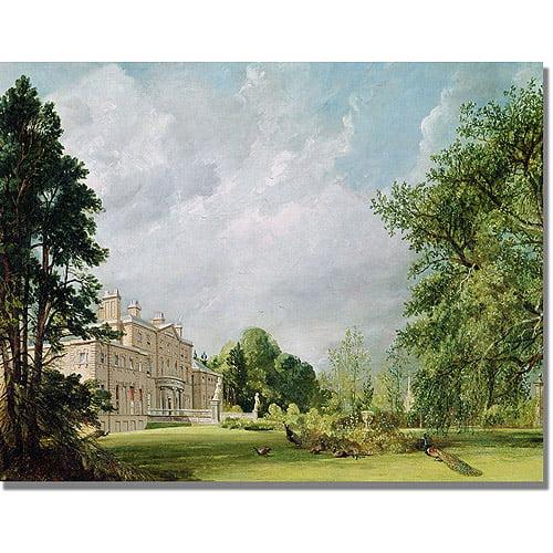 "Trademark Fine Art ""Malvern Hall"" Canvas Art by John Constable"