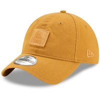 Los Angeles Dodgers New Era Label 9TWENTY Adjustable Hat - Brown - OSFA