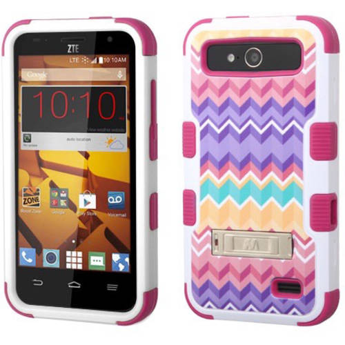 ZTE N9130 Speed MyBat TUFF Hybrid Protector Cover with Stand