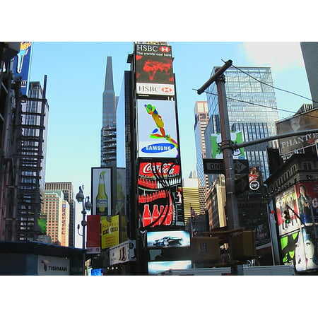 Canvas Print NYC USA Broadway New York City Time Square Stretched Canvas 10 x 14](Halloween Store Broadway Nyc)
