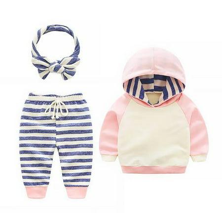 42bea88b6661 Newborn Baby Girl Hoodie Shirt Tops