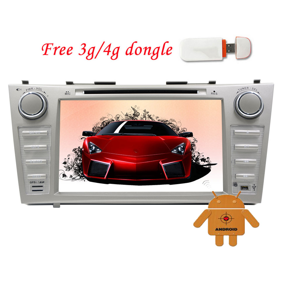 EinCar Android 5.1.1 System Double 2 Din Autoradio Video Audio Unit Toyota Car DVD Player with 8 inch 800*480... by EinCar