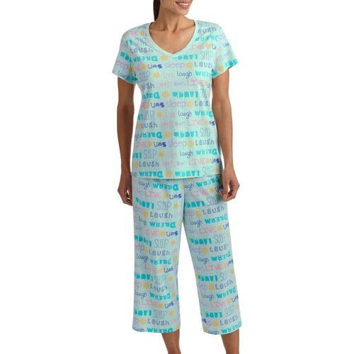 White Stag Women's Capri Pajama Set