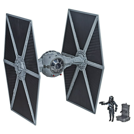 Star Wars Titanium Imperial (Star wars the vintage collection imperial tie fighter with pilot )