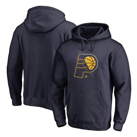 Indiana Pacers Fanatics Branded X-Ray Pullover Hoodie - (Adidas Indiana Pacers Sweatshirt)