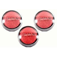 Lot of 3 CoverGirl Flamed Out Dark Pink Eye Shadow Pot# 345