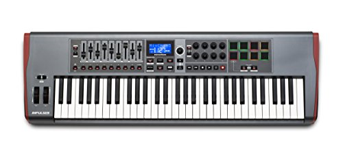 Novation Impulse 61 USB-MIDI 61-Key Controller by Novation