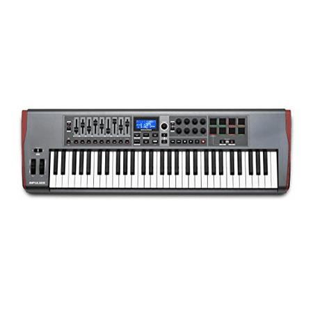 Novation - Impulse MIDI Interface/Keyboard Controller Featuring AutoMap4 (61
