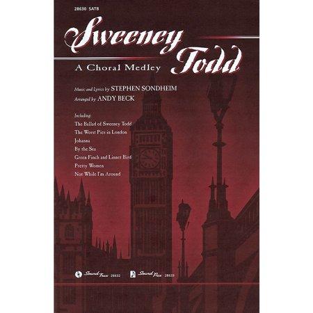 Hal Leonard Sweeney Todd: A Choral Medley SATB arranged by Andy (Sweeney Todd Medley)
