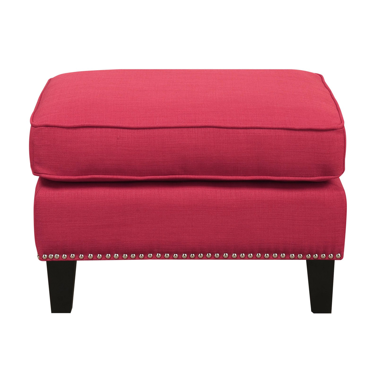 Picket House Emery Ottoman Heirloom Berry