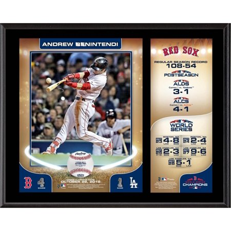 - Andrew Benintendi Boston Red Sox 2018 MLB World Series Champions 12