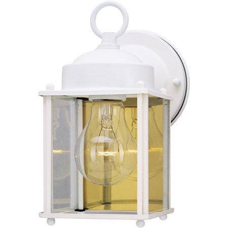 Westinghouse Lighting 6697100 White Outdoor Light Fixture ()