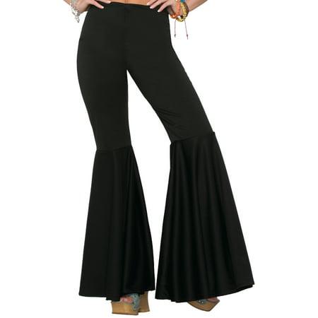Womens Black Bell Bottom Pants Halloween Costume for $<!---->