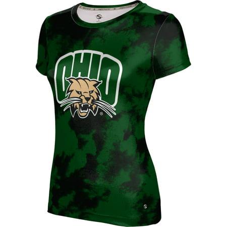 ProSphere Women's Ohio University Grunge Tech Tee - Halloween University Heights Ohio