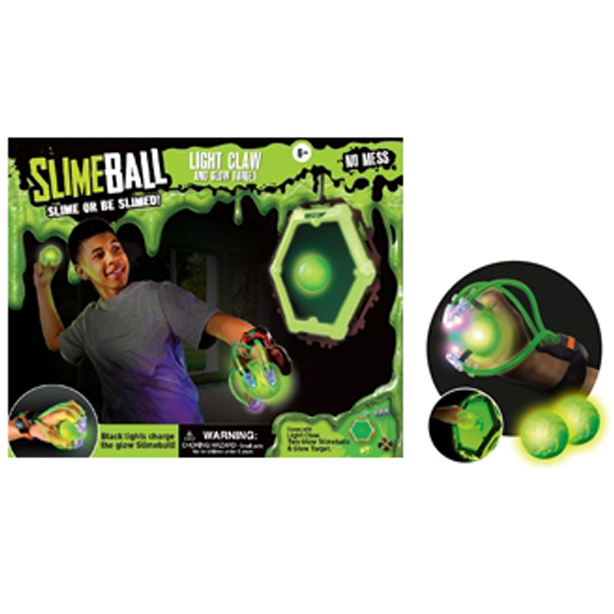 Diggin Active - Slimeball Light Claw & Glow Target