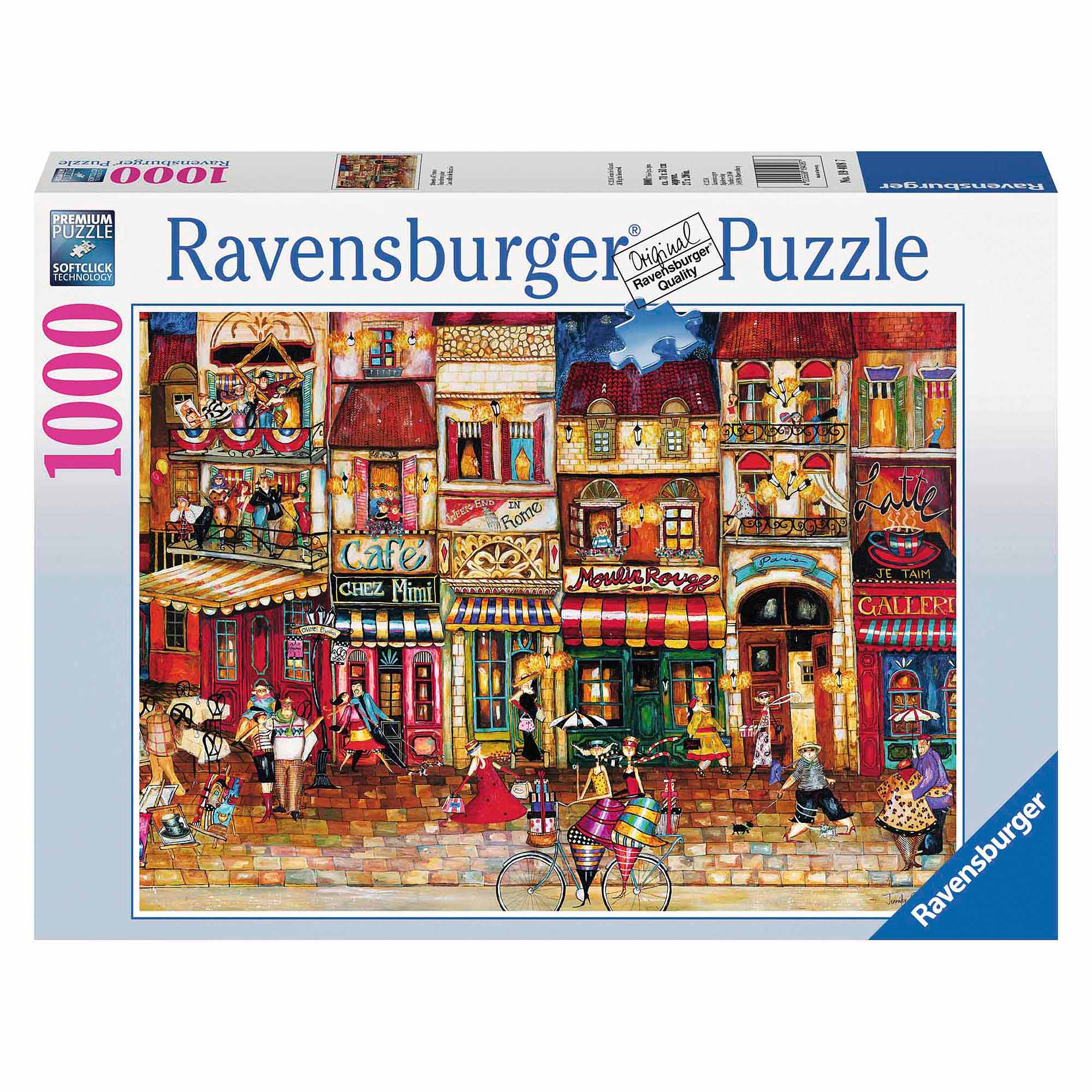 Streets of France Puzzle, 1,000 Pieces by Ravensburger