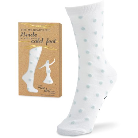 Boning The Beautiful Bride (The We Do Crew - For My Beautiful Bride in Case You Get Cold Feet - Polka Dot Socks Bride Wedding)