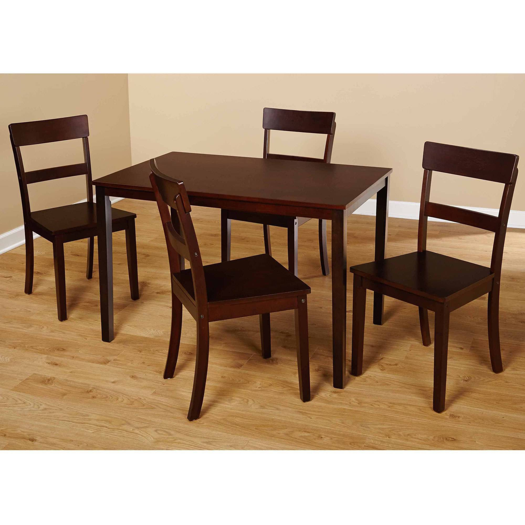 5 Piece Dining Sets beverly 5-piece dining set, multiple finishes - walmart