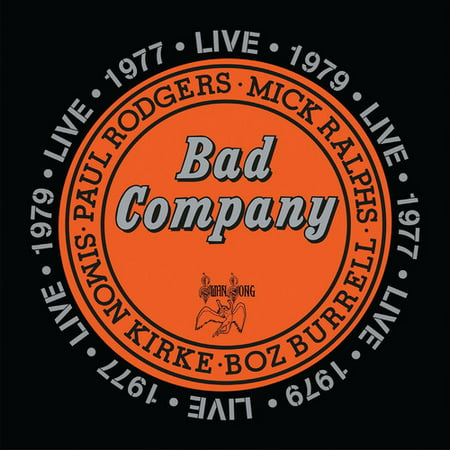 Bad Company Live in Concert 1977 & 1979 - 1977 Pilots