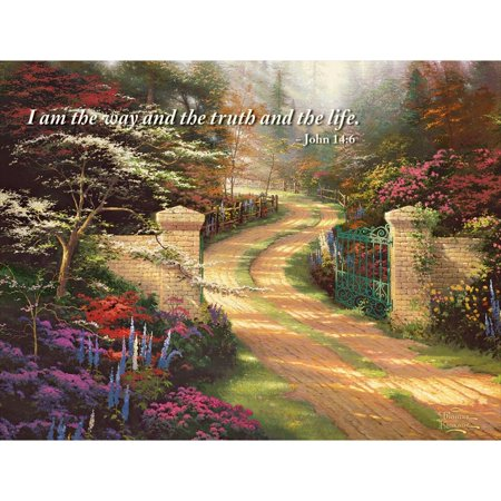 Garden Serenity Christ Note Card Set, Stationery by Lang Companies