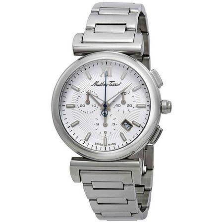 Mathey-Tissot Elegance Chronograph White Dial Men's Watch H410CHAI (Elegant Chronograph)