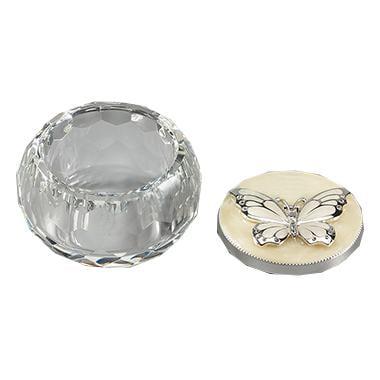 The Butterfly Trinket Box (Silver Butterfly) - Animal