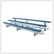 BSN Sports Tip N' Roll Bleachers-Type:4 Rows