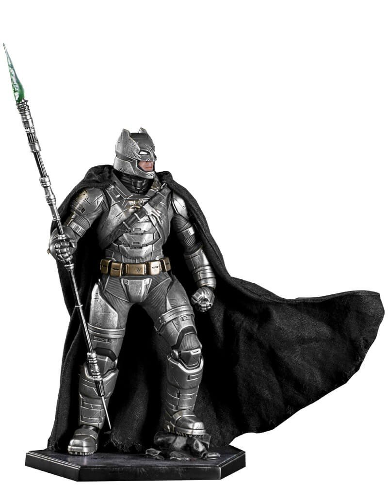 Batman battle daMaged armor Batman vs superman iron studios 1 10 scale statue by