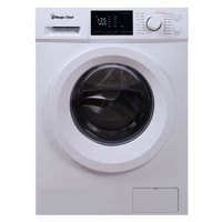 Magic Chef 2.7 cu ft Front Load Washer, White