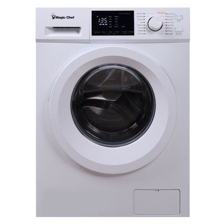 Magic Chef 2.7 cu ft Front Load Washer, White (Best Rated Front Load Washer And Dryer 2019)