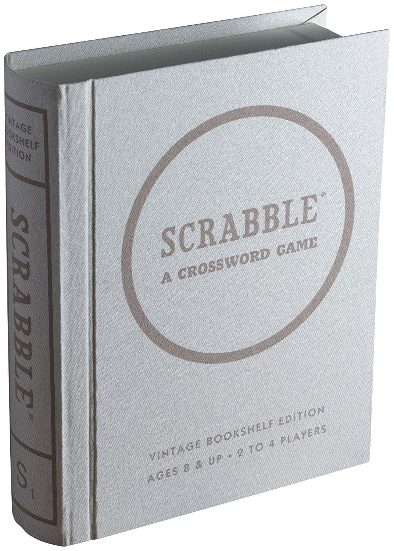 Winning Solutions Clue Scrabble Monopoly Vintage Bookshelf Edition Bundle