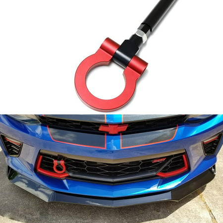 Alloy Racing (Xotic Tech Aluminum Alloy Racing Sport Tow Hook Fit 2016+ Chevrolet Camaro 6 Generation Red )