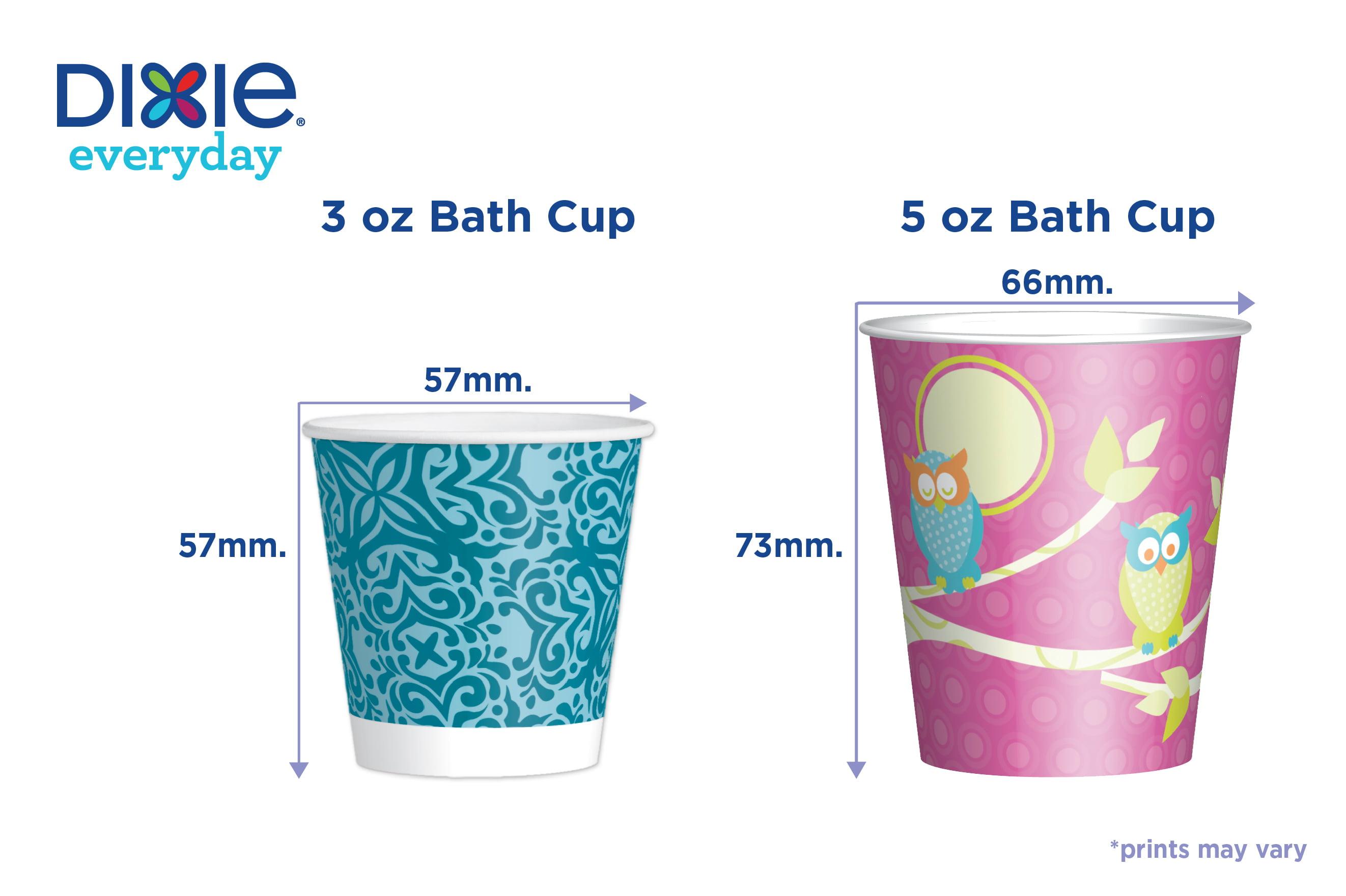 Dixie Paper Bath Cups, 3 oz, 200 Count - Walmart com
